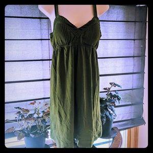 Lei brand green dress junior size XL